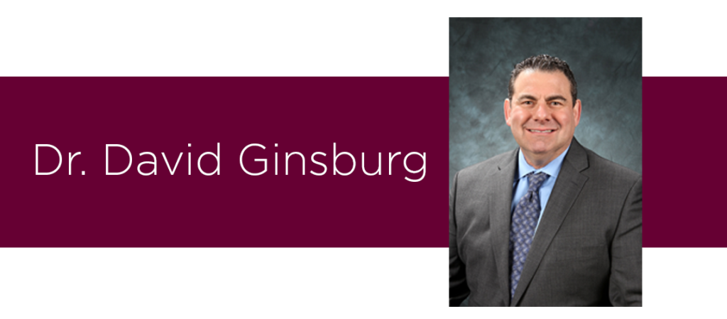 Featured physician for the month of November is Dr. David Ginsburg. Practicing neurologist at Roseman Medical Group and ALS advocate.