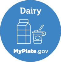 Dairy icon from myplate.gov