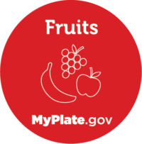 Fruits icon from myplate.gov