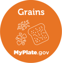 Grains icon from myplate.gov