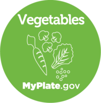 Vegetables icon from myplate.gov