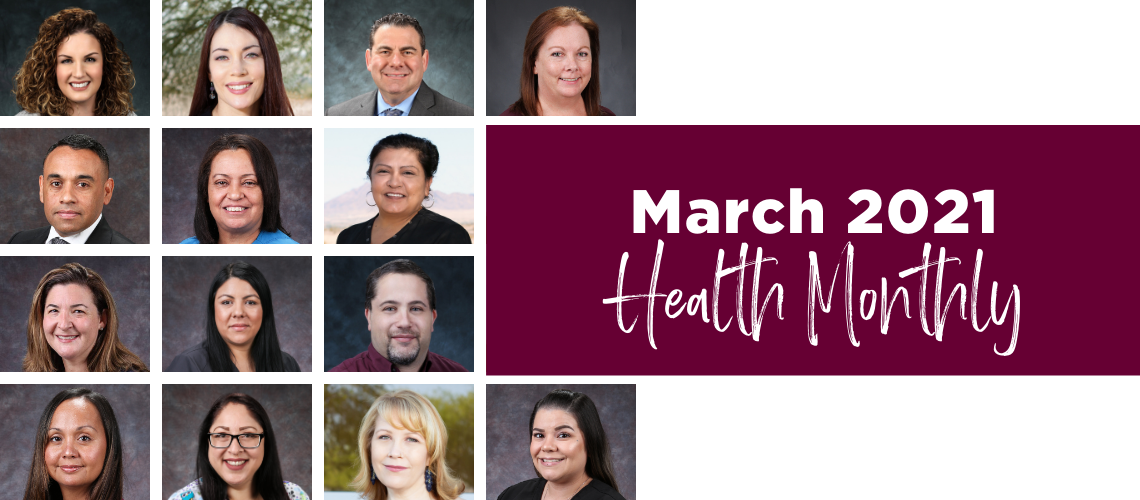 March 2021 Roseman Medical Group Health Monthly Clinic Update