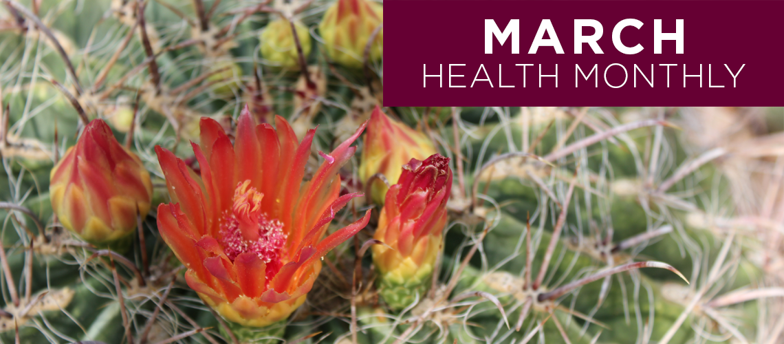 March 2021 Roseman Medical Group Health Monthly Newsletter Welcome